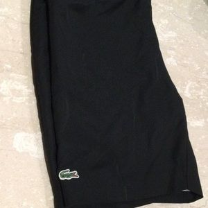 Lacoste sports shorts in size 12 boys